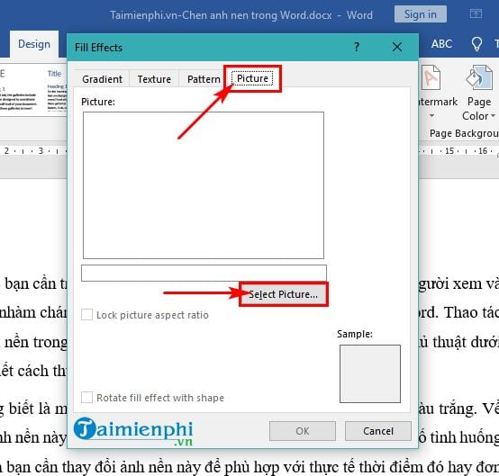 Guide to insert images in word 3