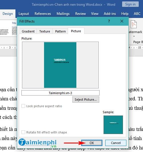 Guide to insert images in word 6