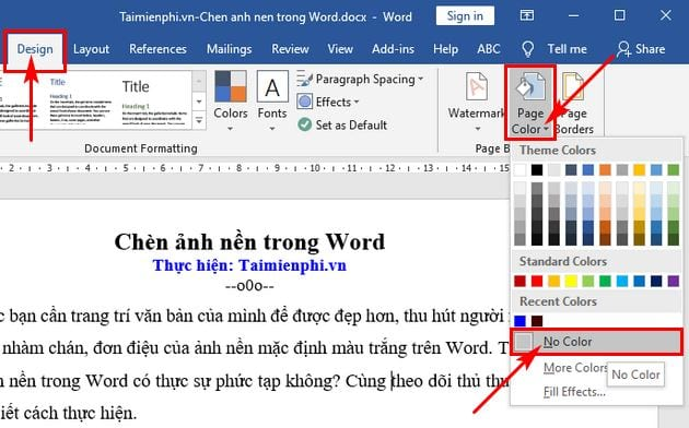 How to insert images in word 10