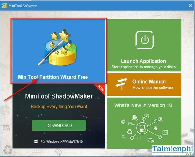 guide to share in the minitool partition wizard 2