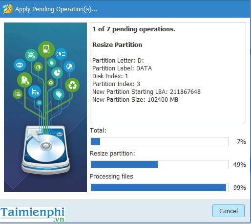 guide to share in the state of minitool partition wizard 12
