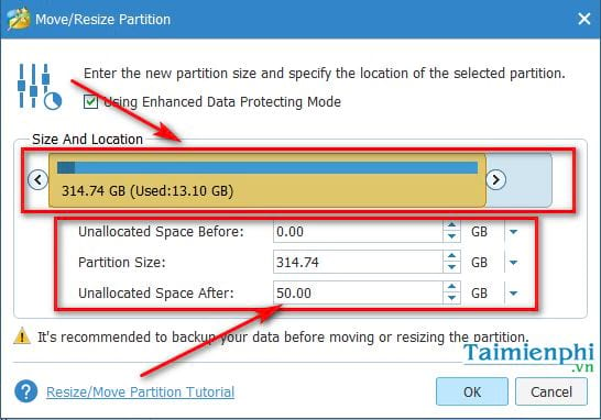 guide to share in the minitool partition wizard 5