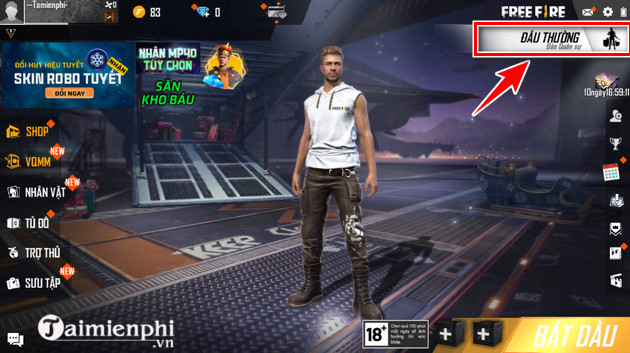 guide to play garena sat free fire day du nhat 2