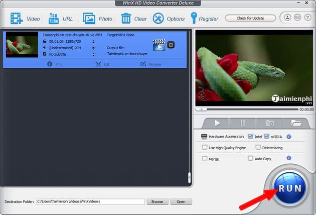 video transfer 4k 4k mp4 mp4