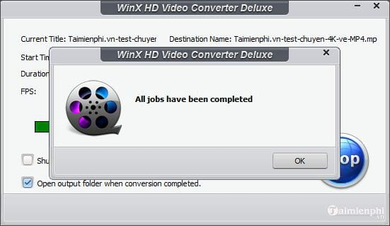 How to convert 4k videos to mp4 10