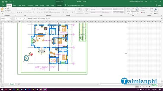How to copy autocad image to word excel 10