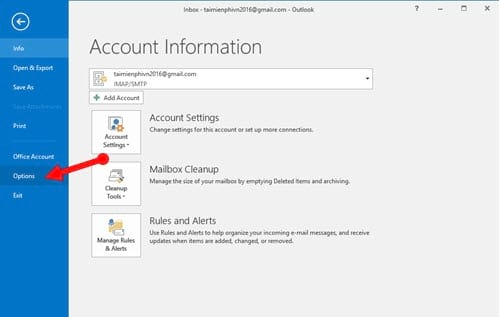 Guide to read emails on Microsoft Outlook 5
