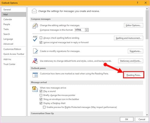 Guide to read emails on Microsoft Outlook 6