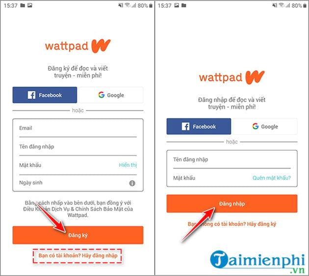 guide reading on wattpad 2