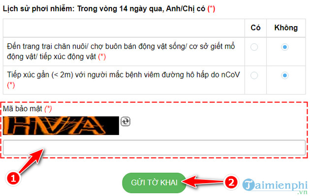 guide how to claim online in tokhaiyte vn 7