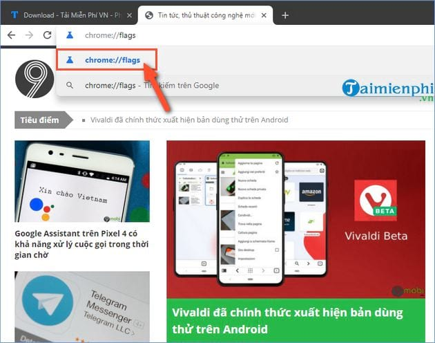 How to activate the preview tab in Google Chrome 2