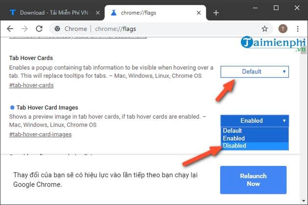 How to activate the preview tab in Google Chrome 9