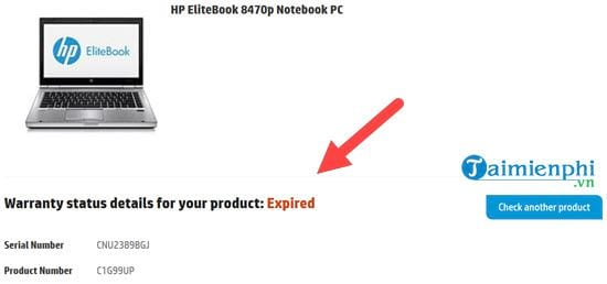 How to check laptop HP 5