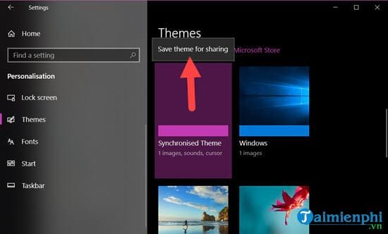 guide to share theme on windows 10 5