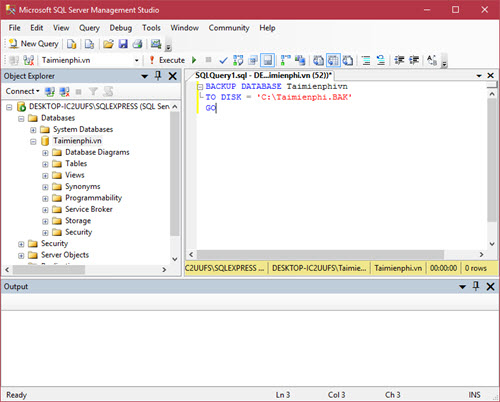 guide how to save and recover sql 2008 quickly 8