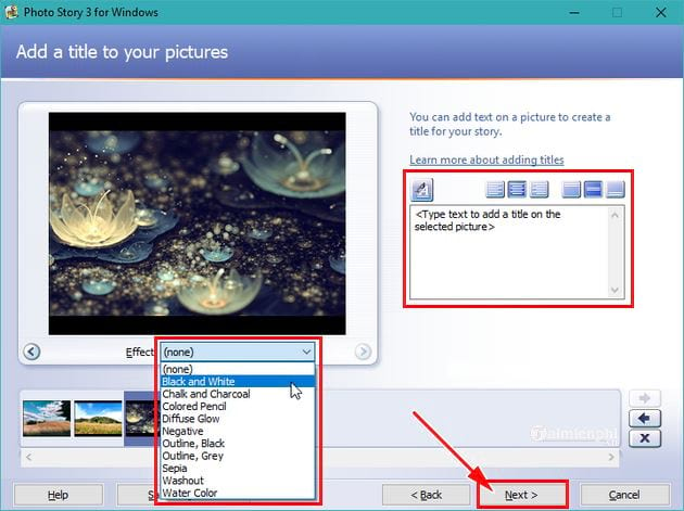 guide to using photo story 3 for windows 7