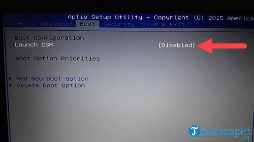 guide to fix the problem of booting into Windows 10 uefi 7
