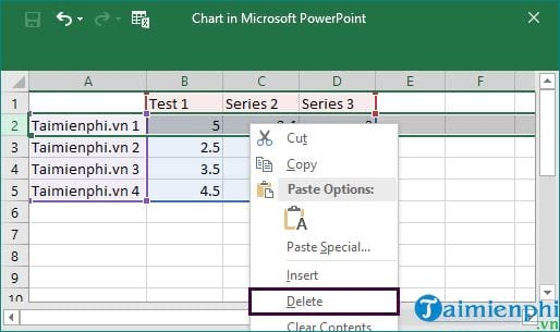guide and delete data in powerpoint 9
