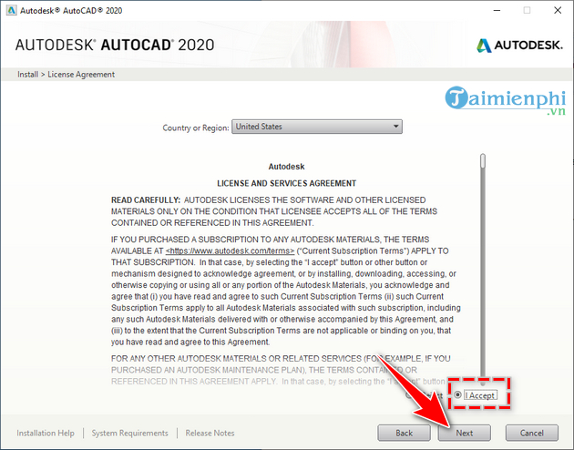 manual and autocad installation 2020 6