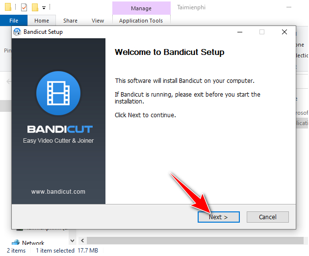 guide and install bandicut 5