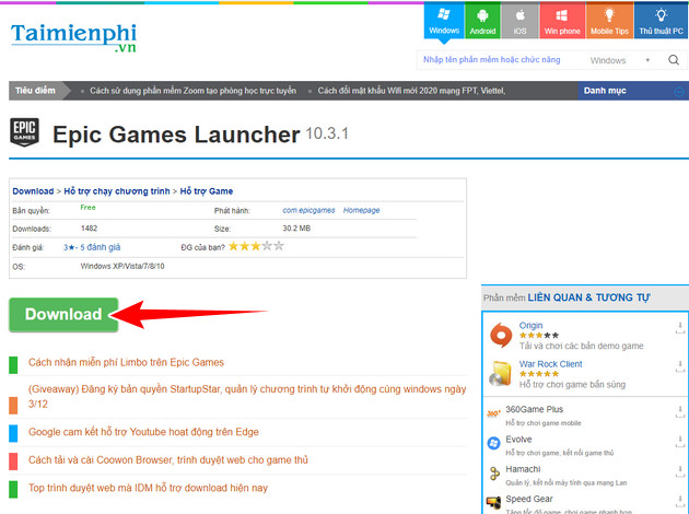 guide and install epic games launcher on PC 2