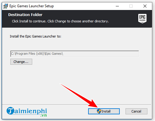 guide and install epic games launcher on your computer 5