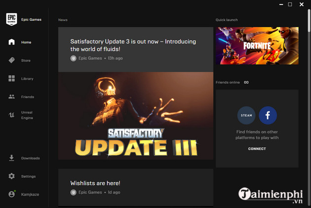 guide and install epic games launcher on PC 8