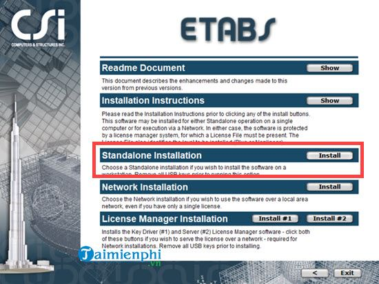 Guide and install etabs software updates 2