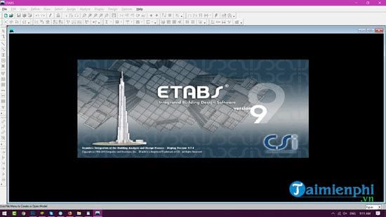 manual and install etabs software updates 9