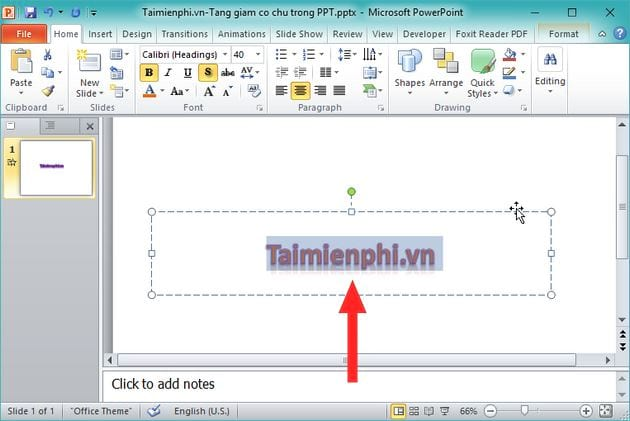 Guide to Powerpoint 6