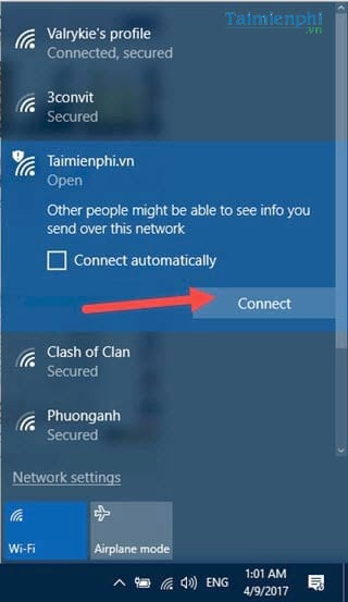 guide the wifi connection for your wifi modem device 2