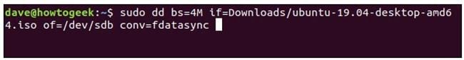 how to burn or burn iso files to usb on linux 12