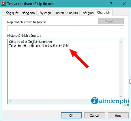 How to create a WinRAR file 3