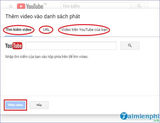 How to create playlist on YouTube 15