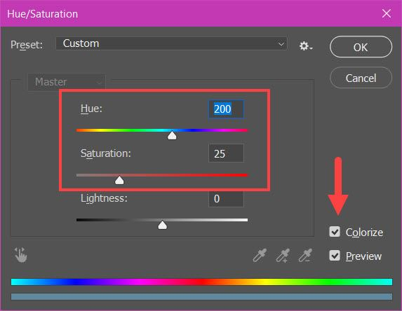 How to Create Light Weight in Photoshop 14