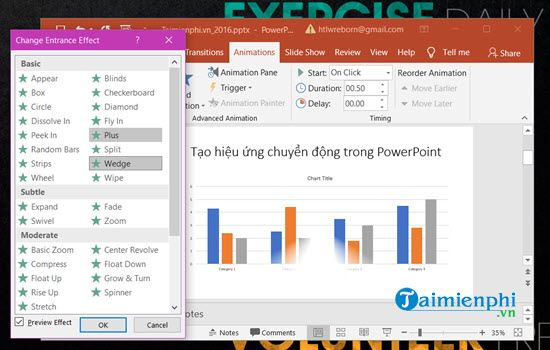 guide to understanding the movement in powerpoint 7