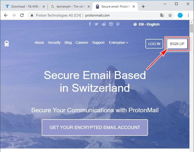 guide to protonmail account 2