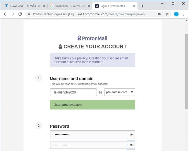 guide to protonmail account 5