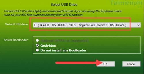 I create bootable usb with xboot