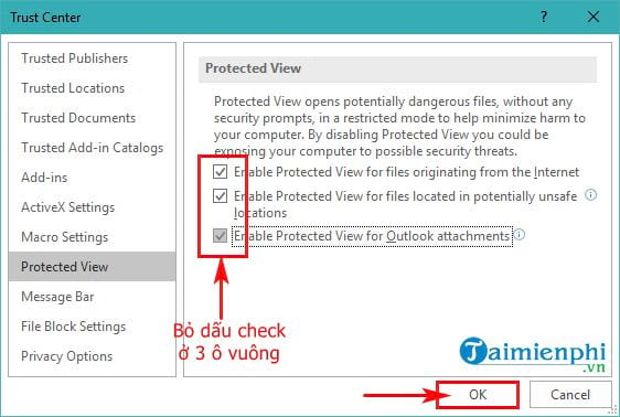 guide to protect protected view in word 6