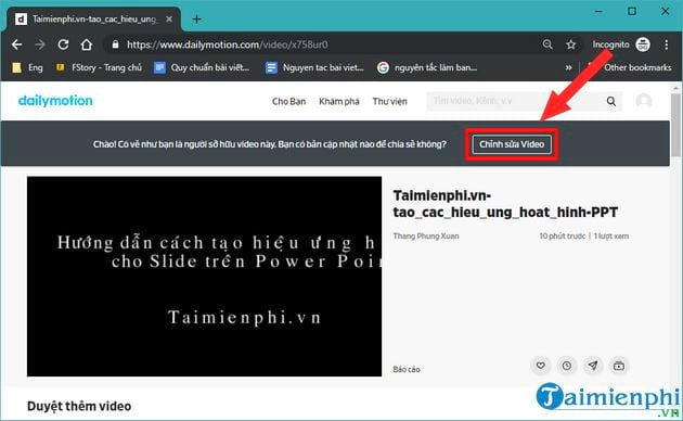 How to upload videos len dailymotion com 11
