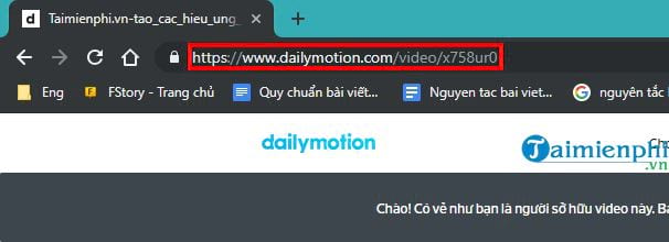 How to upload videos len dailymotion com 13