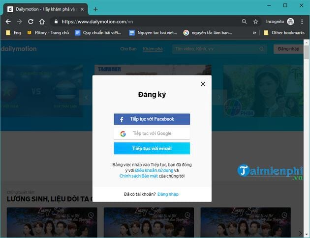 How to upload videos len dailymotion com 3
