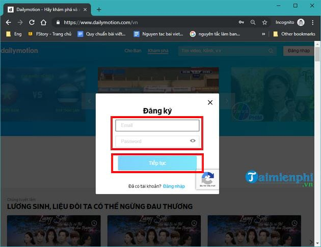 Guide to upload videos len dailymotion com 4