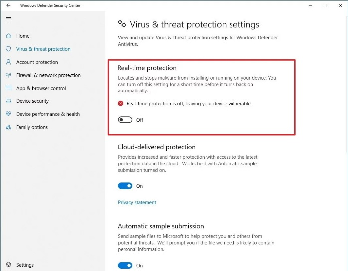 guide to defragment windows defender on windows 10