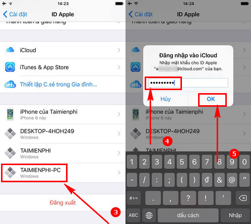 guide to remove devices connected to your Appleid account 2