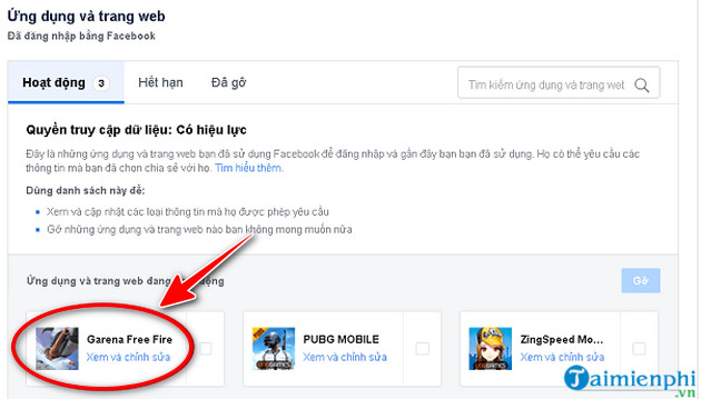 guide to remove connection garena free fire 4 facebook