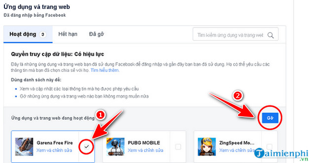 guide to remove connection garena free fire 5 facebook