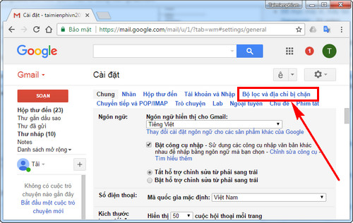 remove spam email from gmail 3