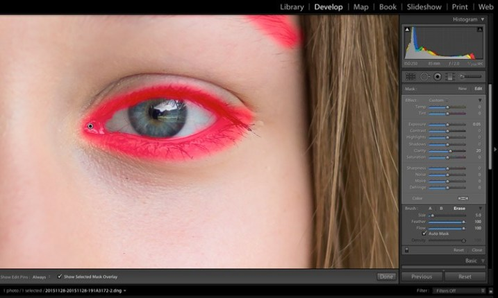 technical guidance in lightroom 12